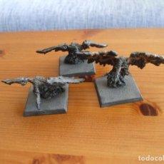 Jogos Antigos: WARHAMMER (OLDHAMMER): 3 BUITRES DE NEHEKHARA EJERCITO REYES FUNERARIOS. Lote 212562227