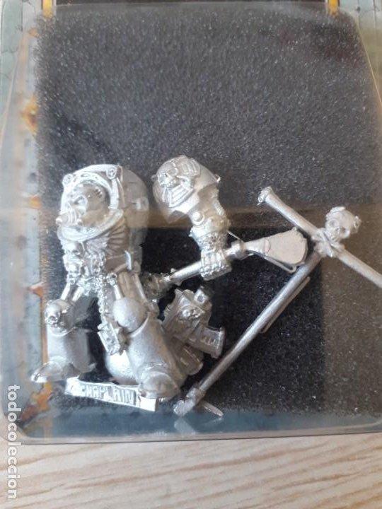 Juegos Antiguos: Capellan Exterminador - Warhammer 40k - Foto 2 - 213119296