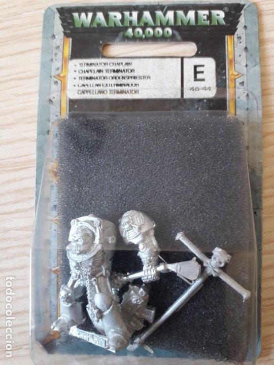 CAPELLAN EXTERMINADOR - WARHAMMER 40K (Juguetes - Rol y Estrategia - Warhammer)