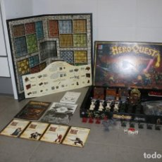 Alte Spiele: HEROQUEST 1989 MB GAMES WORKSHOP JUEGO MESA COMPLETO INGLÉS HIGH ADVENTURES. Lote 196941358