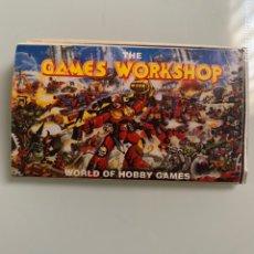 Juegos Antiguos: ANTIGUO MINI CATÁLOGO THE GAMES WORKSHOP AÑOS 90 WARHAMMER SPACE MARINE BLOOD BOWL. Lote 213714922
