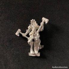 Jeux Anciens: FIGURA BERTHA HERMANAS DE SIGMAR WARHAMMER METAL. Lote 214109555