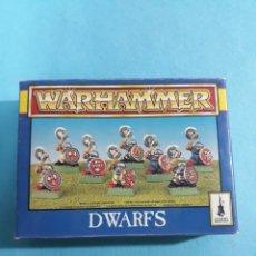 Jeux Anciens: CAJA DE FIGURA WARHAMMER. Lote 214147516