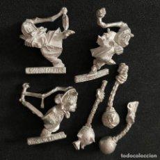 Jeux Anciens: FIGURAS MINIATURAS NIGHT GOBLIN METAL WARHAMMER DUENDES NOCTURNOS 1998. Lote 214162515