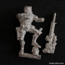 Jeux Anciens: FIGURA MINIATURA ASESINO IMPERIAL METAL WARHAMMER IMPERIAL ASSASSIN 1999. Lote 214182856
