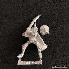 Jeux Anciens: FIGURA MINIATURA SULIMAN BRETONNIAN-BRETON METAL WARHAMMER FANTASY-FANTASIA SARACEN-SARRACENO. Lote 214183818