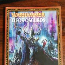 Juegos Antiguos: WARHAMMER. ELFOS OSCUROS. GAMES WORKSHOP. 2003. Lote 215010906
