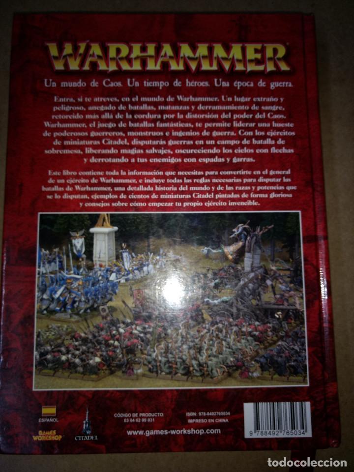 Juegos Antiguos: TOMO TAPA DURA WARHAMMER juego batallas fantasticas - GAMES WORKSHOP - 504 pag. AÑO 2009 - Foto 3 - 215795330