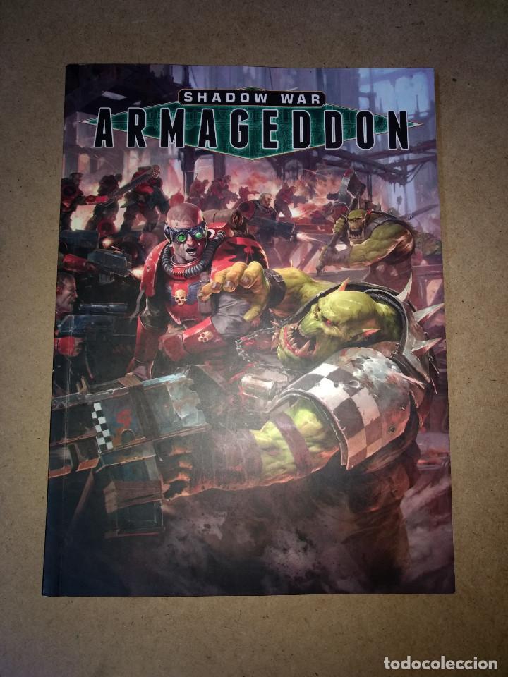 SHADOW WAR ARMAGEDDON- GAMES WORKSHOP -WARHAMMER - 120 PAG. (Juguetes - Rol y Estrategia - Warhammer)