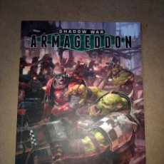 Juegos Antiguos: SHADOW WAR ARMAGEDDON- GAMES WORKSHOP -WARHAMMER - 120 PAG.. Lote 215796151