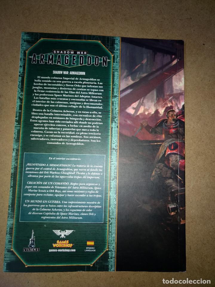 Juegos Antiguos: SHADOW WAR ARMAGEDDON- GAMES WORKSHOP -WARHAMMER - 120 pag. - Foto 2 - 215796151