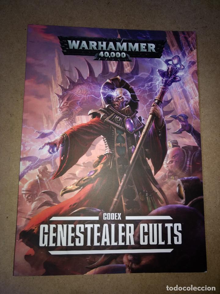 WARHAMMER 40.000 GENESTEALER CULTS - GAMES WORKSHOP - TOMO 106 PAGINAS (Juguetes - Rol y Estrategia - Warhammer)