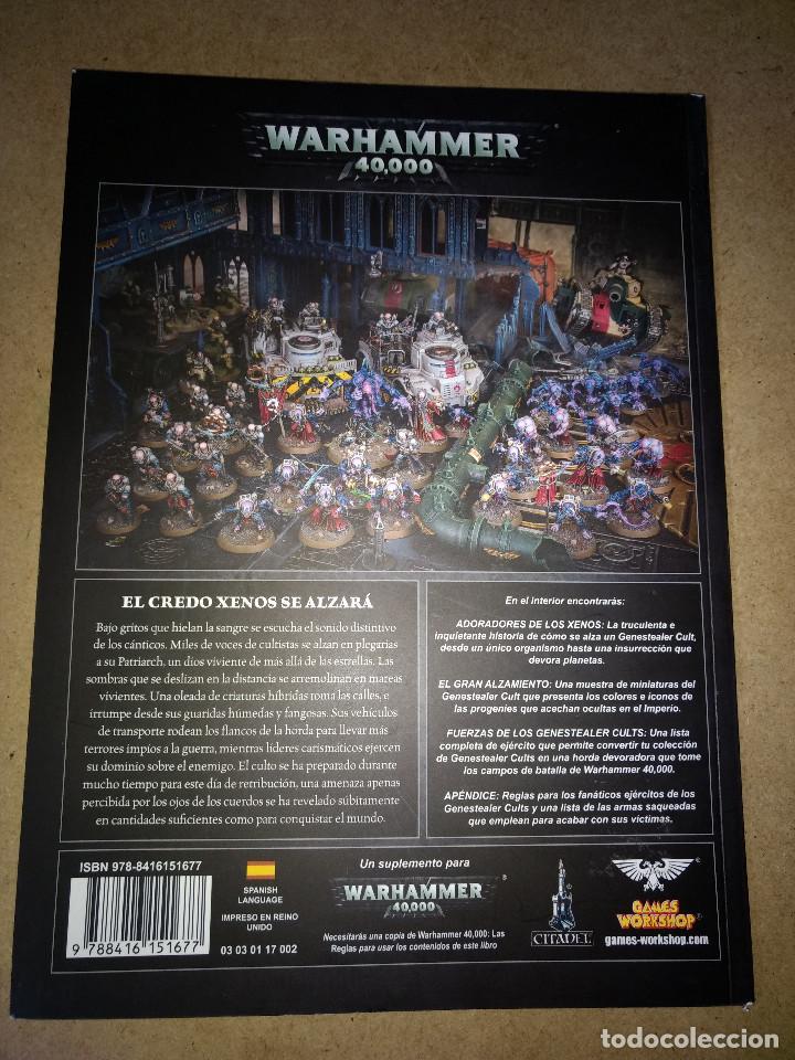 Juegos Antiguos: WARHAMMER 40.000 GENESTEALER CULTS - GAMES WORKSHOP - TOMO 106 PAGINAS - Foto 2 - 215796481
