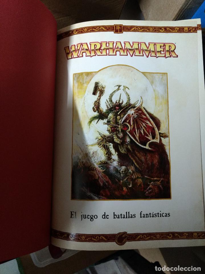 Juegos Antiguos: TOMO TAPA DURA WARHAMMER juego batallas fantasticas - GAMES WORKSHOP - 504 pag. AÑO 2009 - Foto 5 - 215795330