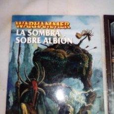 Juegos Antiguos: LIBRO EJERCITO CAMPAÑA LA SOMBRA SOBRE ALBION HOMBRES LAGARTO WARHAMMER. Lote 215831916