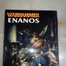 Juegos Antiguos: LIBRO EJERCITO CODEX ENANOS WARHAMMER. Lote 215832507
