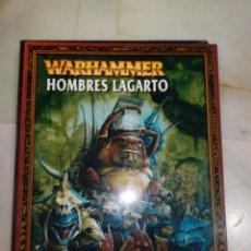 Juegos Antiguos: LIBRO DE EJÉRCITO CODEX HOMBRES LAGARTO WARHAMMER. Lote 215832681