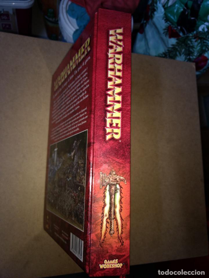 Juegos Antiguos: TOMO TAPA DURA WARHAMMER juego batallas fantasticas - GAMES WORKSHOP - 504 pag. AÑO 2009 - Foto 6 - 215795330
