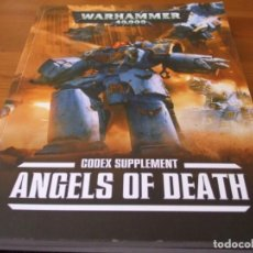 Juegos Antiguos: WARHAMMER 40K: CODEX ANGELS OF DEATH SEPTIMA EDICION (INGLES). Lote 231561750