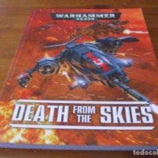Juegos Antiguos: WARHAMMER 40K: CODEX DEATH FROM THE SKIES SEPTIMA EDICION (INGLES). Lote 215965665