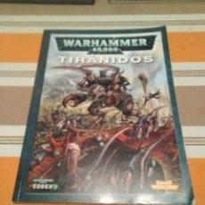 Juegos Antiguos: CODEX TIRANIDOS - WARHAMMER 40K. Lote 216644071