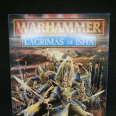 Juegos Antiguos: LAGRIMAS DE ISHA, ALTOS ELFOS - ELFOS OSCUROS, CAMPAÑA WARHAMMER. OLDHAMMER.. Lote 217208373
