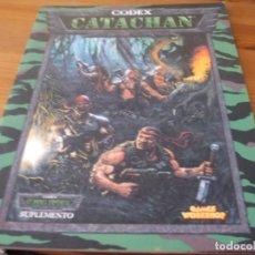 Juegos Antiguos: WARHAMMER 40K: CODEX CATACHAN ANTIGUA EDICION. Lote 217285173