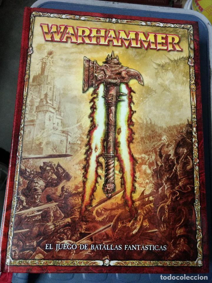Juegos Antiguos: TOMO TAPA DURA WARHAMMER juego batallas fantasticas - GAMES WORKSHOP - 504 pag. AÑO 2009 - Foto 2 - 215795330