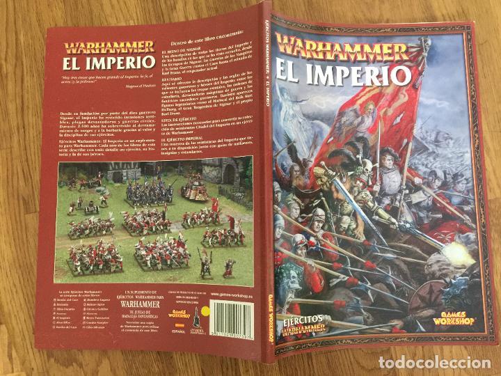 EJERCITOS WARHAMMER , EL IMPERIO - GAMES WORKSHOP - GCH1 (Juguetes - Rol y Estrategia - Warhammer)