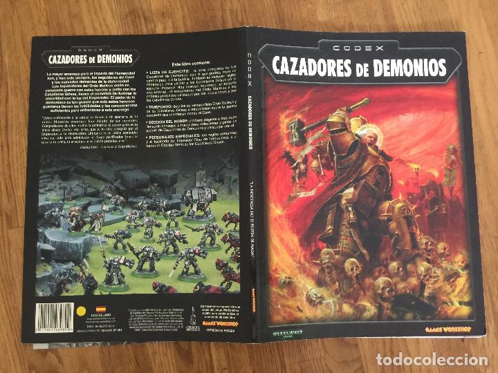 WARHAMMER 40.000 - CAZADORES DE DEMONIOS - GAMES WORKSHOP - GCH1 (Juguetes - Rol y Estrategia - Warhammer)