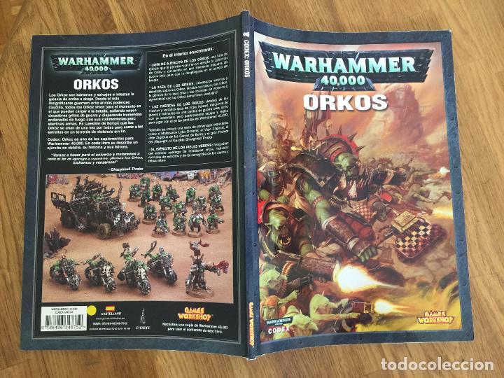 WARHAMMER 40.000 - CODEX: ORKOS - GAMES WORKSHOP - GCH1 (Juguetes - Rol y Estrategia - Warhammer)