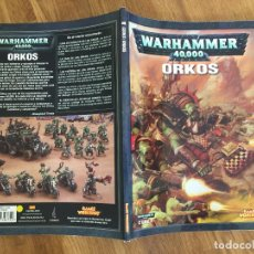 Juegos Antiguos: WARHAMMER 40.000 - CODEX: ORKOS - GAMES WORKSHOP - GCH1. Lote 217907175
