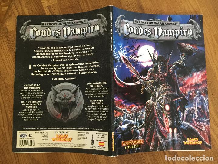 EJERCITOS WARHAMMER - CONDE VAMPIRO - GAMES WORKSHOP - GCH1 (Juguetes - Rol y Estrategia - Warhammer)