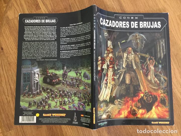 WARHAMMER 40.000 - CODEX: CAZADORES DE BRUJAS - GAMES WORKSHOP - GCH1 (Juguetes - Rol y Estrategia - Warhammer)