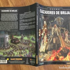 Juegos Antiguos: WARHAMMER 40.000 - CODEX: CAZADORES DE BRUJAS - GAMES WORKSHOP - GCH1. Lote 217907663