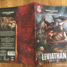 Juegos Antiguos: WARHAMMER 40.000 - LEVIATHAN , THE RULES - EN INGLES - GAMES WORKSHOP - GCH1. Lote 217907861