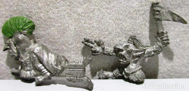 Juegos Antiguos: Warhammer, figuras metal, GOBLINS - Foto 2 - 217951882