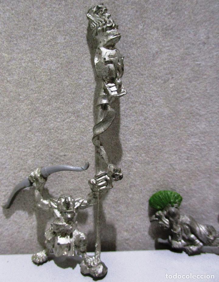 Juegos Antiguos: Warhammer, figuras metal, GOBLINS - Foto 3 - 217951882
