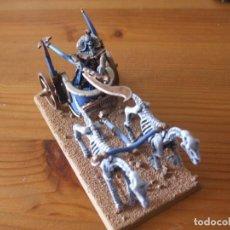 Juegos Antiguos: WARHAMMER FANTASY (OLDHAMMER): REY FUNERARIO PLOMO EN CARRO EJERCITO REYES FUNERARIOS. Lote 218159160