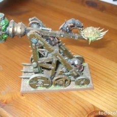Juegos Antiguos: WARHAMMER FANTASY (OLDHAMMER): PLAGUECLAW EJERCITO SKAVEN. Lote 218159432