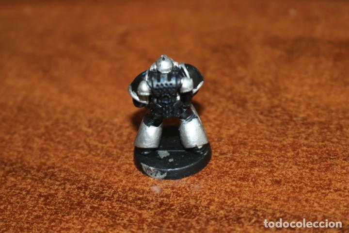 Juegos Antiguos: Miniatura soldado legionario marine Cruzada Estelar MB 1990 Games Workshop HeroQuest pintada - Foto 2 - 218206831