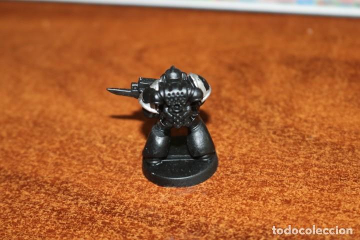 Juegos Antiguos: Miniatura soldado legionario marine Cruzada Estelar MB 1990 Games Workshop HeroQuest pintada - Foto 2 - 218206857