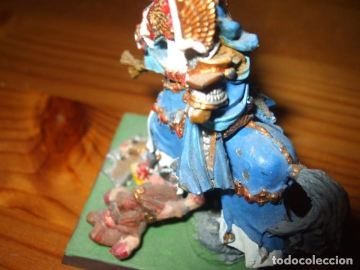 Juegos Antiguos: WARHAMMER FANTASY (OLDHAMMER): HEROE A CABALLO DE PLOMO EJERCITO ALTOS ELFOS - Foto 6 - 218243733