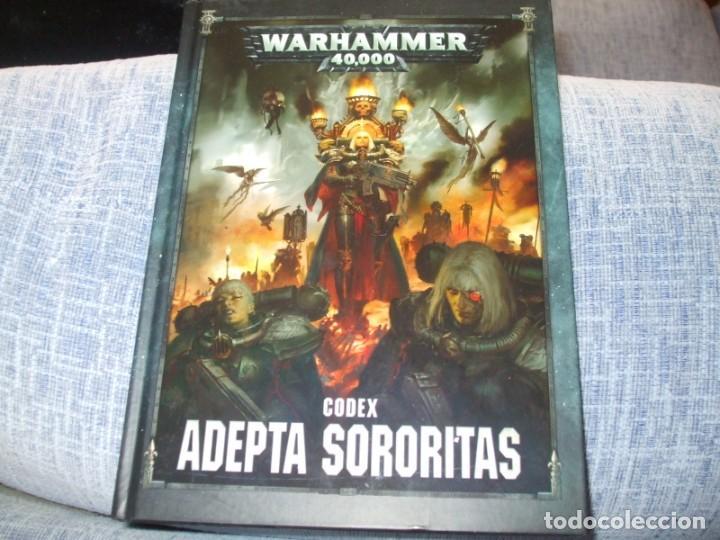 WARHAMMER 40K: CODEX ADEPTA SORORITAS OCTAVA EDICION (Juguetes - Rol y Estrategia - Warhammer)