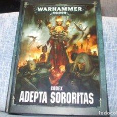 Juegos Antiguos: WARHAMMER 40K: CODEX ADEPTA SORORITAS OCTAVA EDICION. Lote 218243923