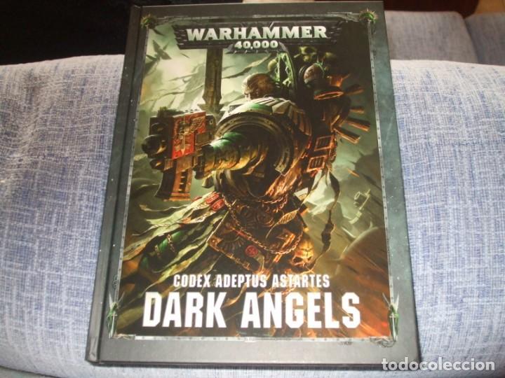 WARHAMMER 40K: CODEX ANGELES OSCUROS OCTAVA EDICION (Juguetes - Rol y Estrategia - Warhammer)