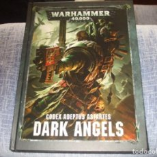 Juegos Antiguos: WARHAMMER 40K: CODEX ANGELES OSCUROS OCTAVA EDICION. Lote 218244020
