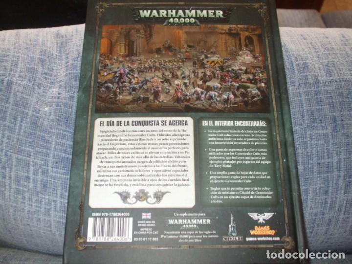 Juegos Antiguos: WARHAMMER 40K: CODEX GENESTEALER CULTS OCTAVA EDICION - Foto 2 - 218244456