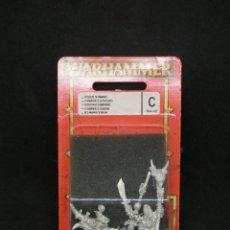 Jogos Antigos: CHAMANES GOBLIN - GOBLINS SHAMANS, WARHAMMER, OLDHAMMER, METAL BLANCO. Lote 218271537