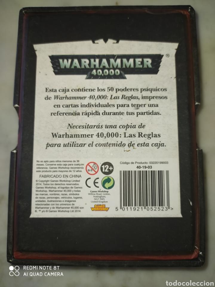 Juegos Antiguos: WARHAMMER 40000 PODERES PSIQUICOS - Foto 2 - 218666783
